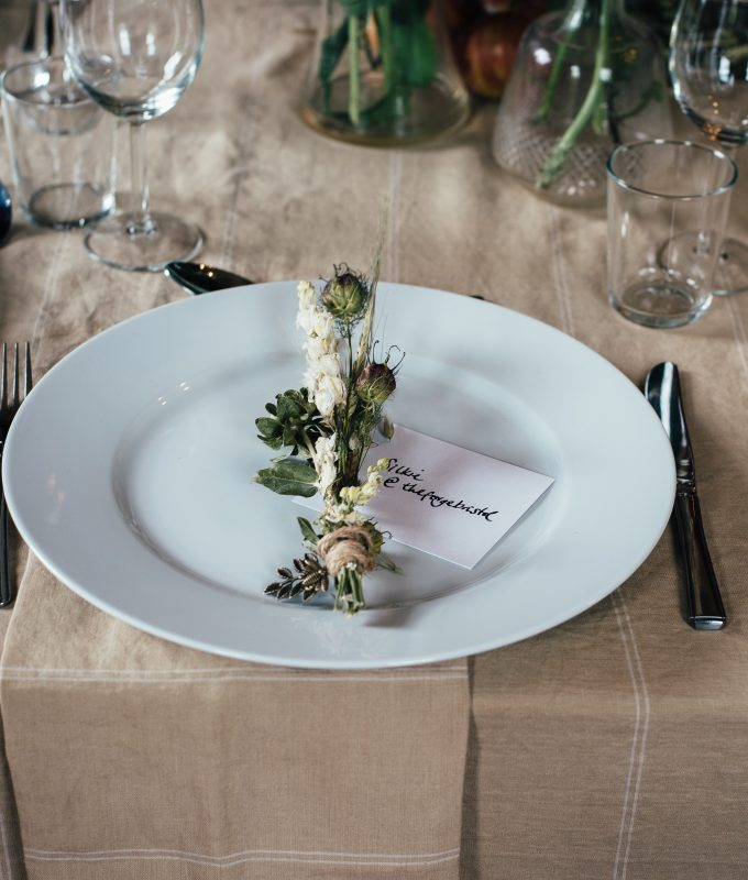Holiday Place Settings